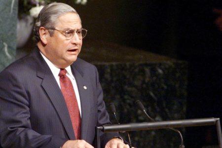 Muere expresidente salvadoreño Armando Calderón Sol