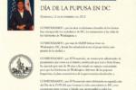 """12 de noviembre """"Día de la Pupusa"""" en Washington DC"""