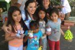 Miss Sister City llevó ayuda a San Miguel
