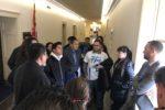 Salvadoreños cabildean en Congreso por una residencia